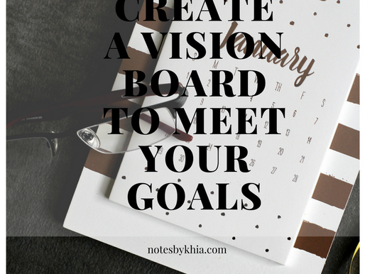 How to Create a Vision Board to Meet Your Goals
