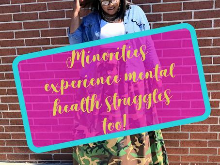 Minorities Experience Mental Health Struggles Too