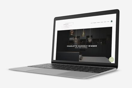 Erstellung einer Website für einen Interior Designerin