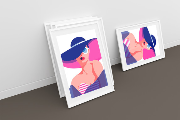 Design eine Plakat - Privat