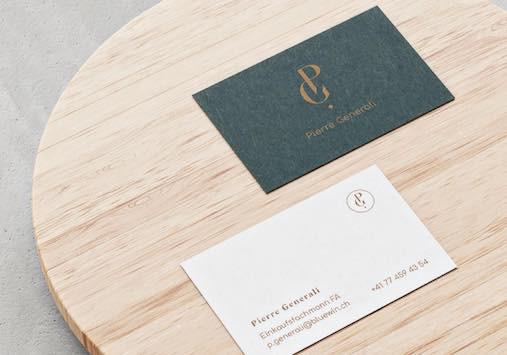 Design eine Visitenkarte - Privat