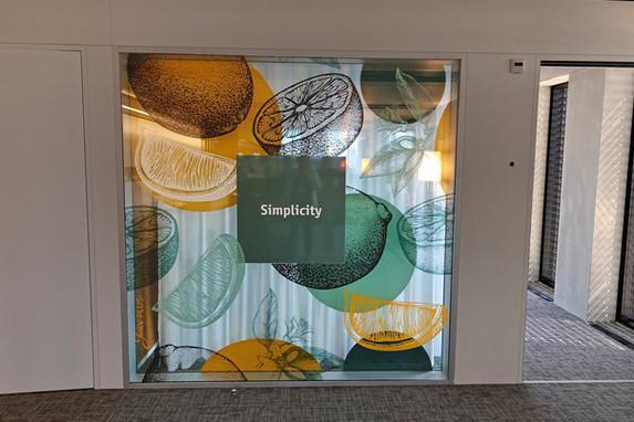 The Juice Plus - Design von Büro-dekorationselemente