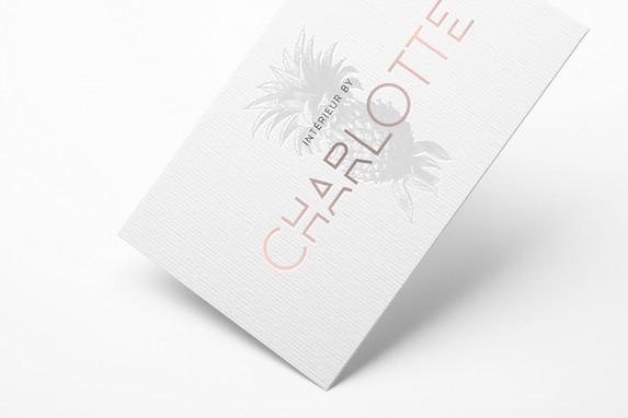 Intérieur by Charlotte - Webseite I Visitenkarten
