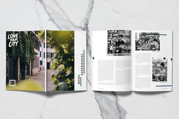 Magazine LoveYourCity - BaselLive I Pro Innerstadt Basel
