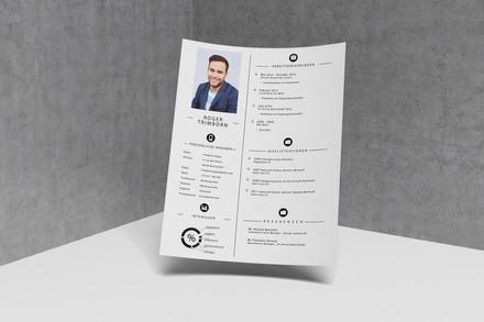 Design von CV - Privat