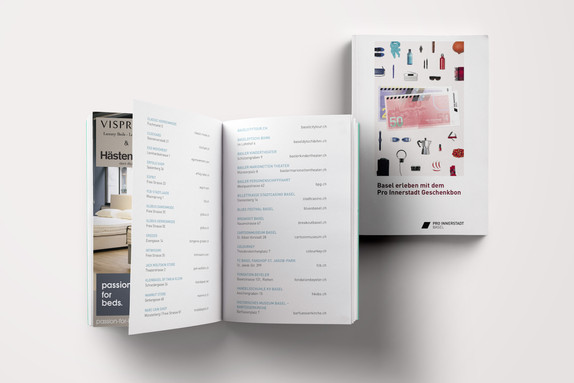 Bon Booklet - BaselLive I Pro Innerstadt Basel
