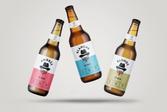 Ta Cave x Unser Bier - Bieretiketten