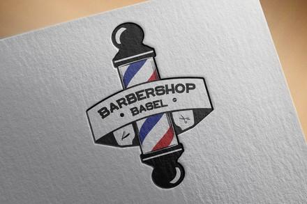 Barbershop Basel - Sticker und Visitenkarten