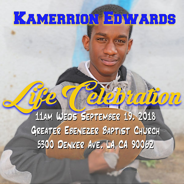 Kamerrion Life Celebration website image