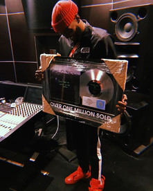Ant Clemons Kanye West Platinum Record