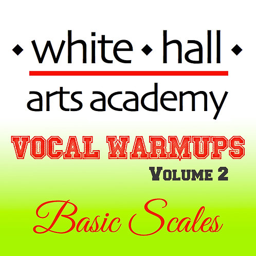 WHAA Vocal Warmups Volume 2 - High Voice