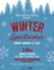 2020 WHAA WINTER SPECTACULAR for ticket.