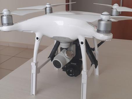 Inovação! Drone de última geração, com câmera térmica.