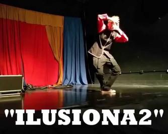 ILUSIONA2 Niñas del Mago. Show de magia en sala.