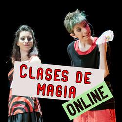 clases de magia online. Como aprender magia online. El dúo Niñas del Mago te enseña ilusionismo teat