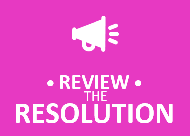 Review The Resolutions  Trenti Training 2020 Event