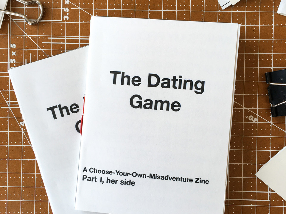 Dating Game Zine