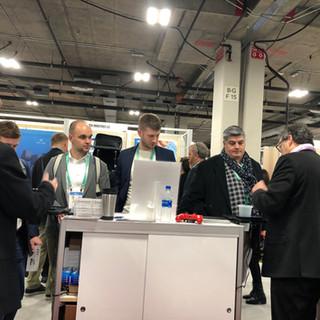 Demonstrating Intelashelf at CES 2020