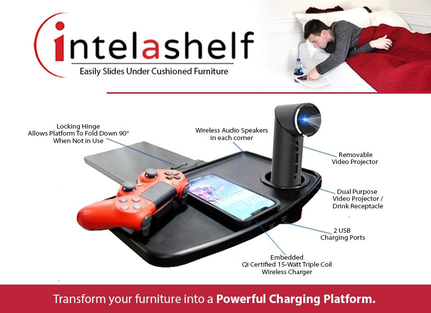 Intelashelf Audio Video Wireless Chargin