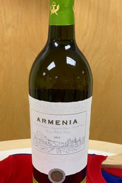 Armenia Dry White Wine