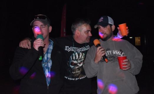 late night karaoke at resort