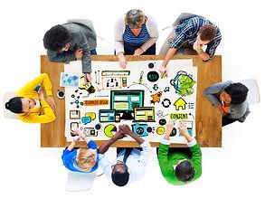 online marketing meeting
