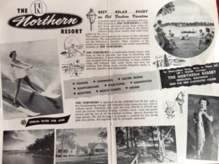 old newspaper clip