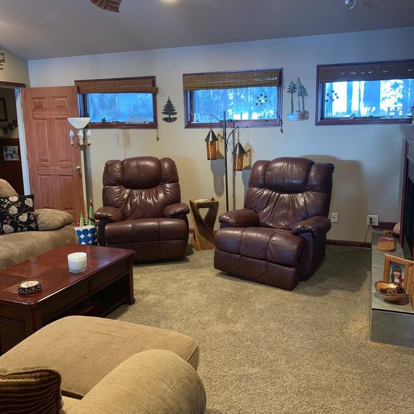 cabin 21 living room