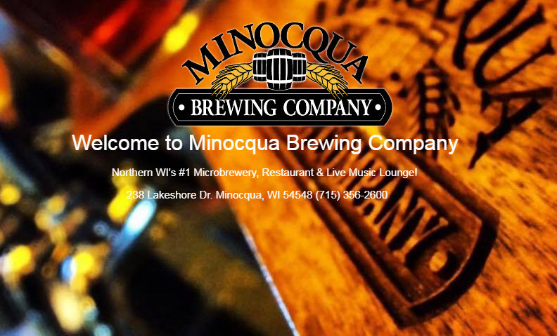 minocqua wi brewery