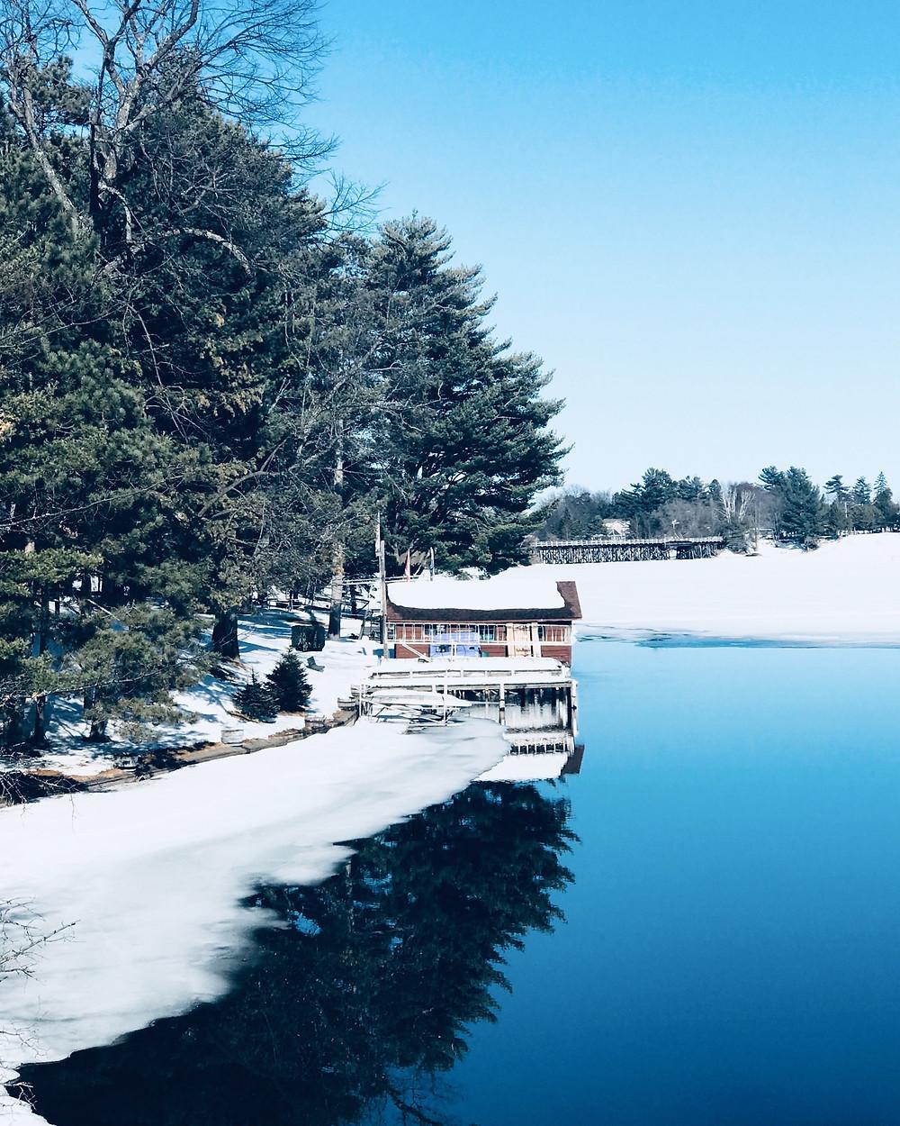 Nitschke's Northern Resort in Winter