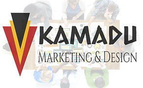 kamadu marketing and design logo