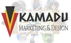 kamadu marketing and design logo
