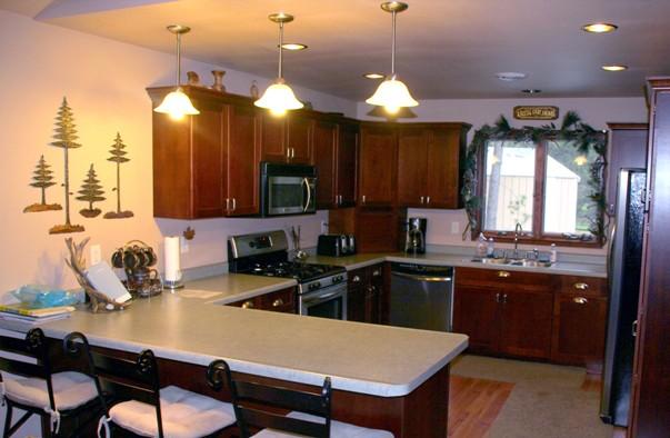 Cabin 21 kitchen
