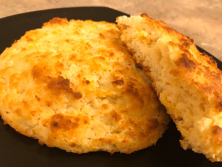 Fluffy Low Carb Biscuits (Carbquik)