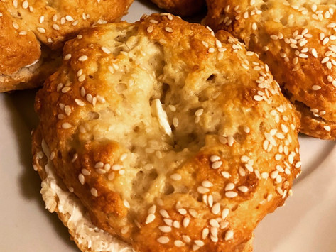 Easy Homemade Bagels (NO YEAST)