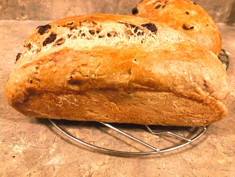 Healthy Homemade Raisin Bread