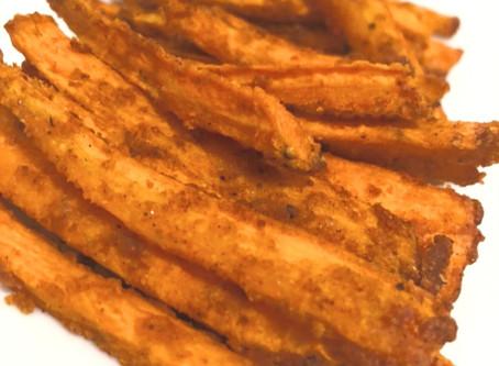 Easy Oven Baked Carrot Fries