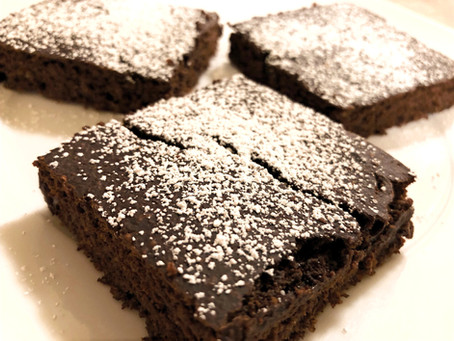 Low Calorie Chocolate Banana Brownies