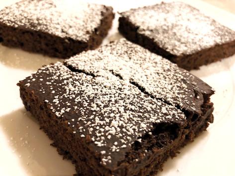 Low Calorie Chocolate Banana Brownies