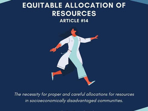 Equitable Allocation of Resources
