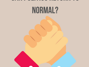 Can Politics Return to Normal?