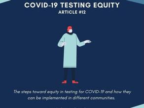 COVID-19 Testing Equity
