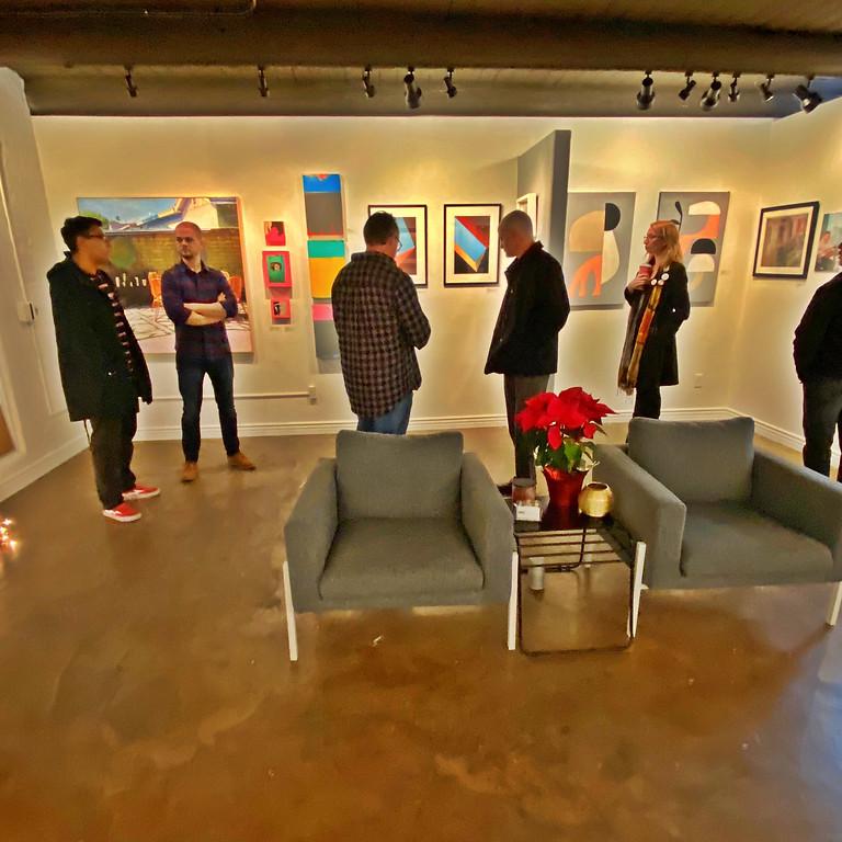 "Final Reception & ArtWalk for ""Painting Versus Photography"""