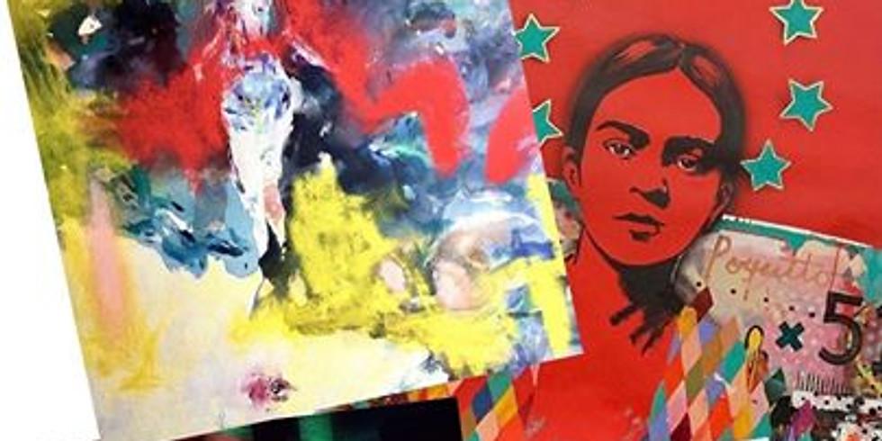 """Moments of Color"" & Scottsdale ArtWalk"