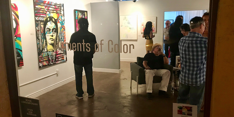 """Moments of Color"" & Scottsdale ArtWalk"