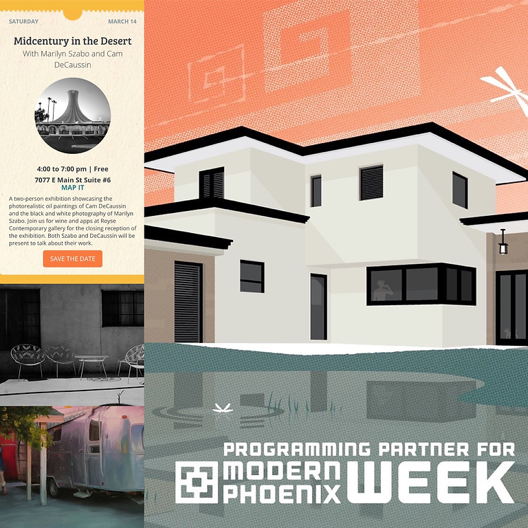 """Closing Reception for """"Midcentury in the Desert"""""""
