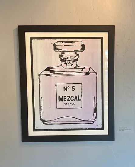 """Mezcal Oaxaca"" (Pink)"