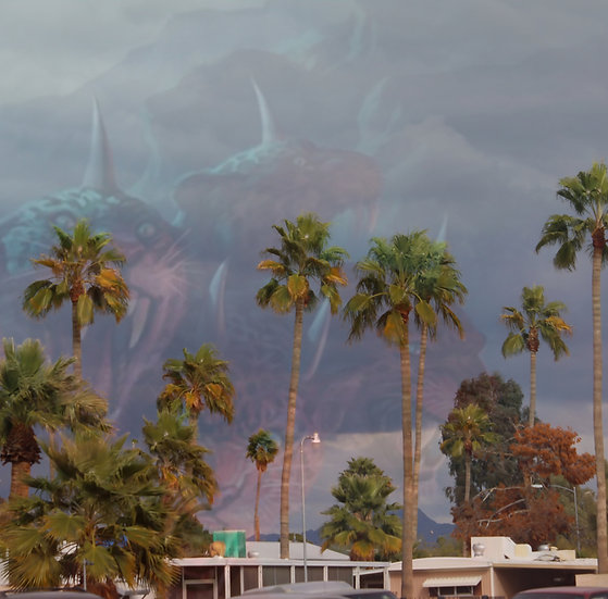 """The Wild Beast with Seven Heads Arrives on Clouds over a Phoenix Trailer Park"""