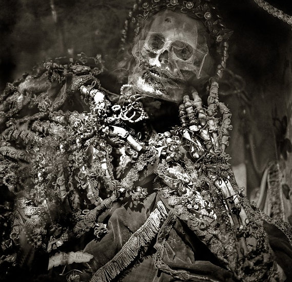 """Bejeweled Skeleton"""