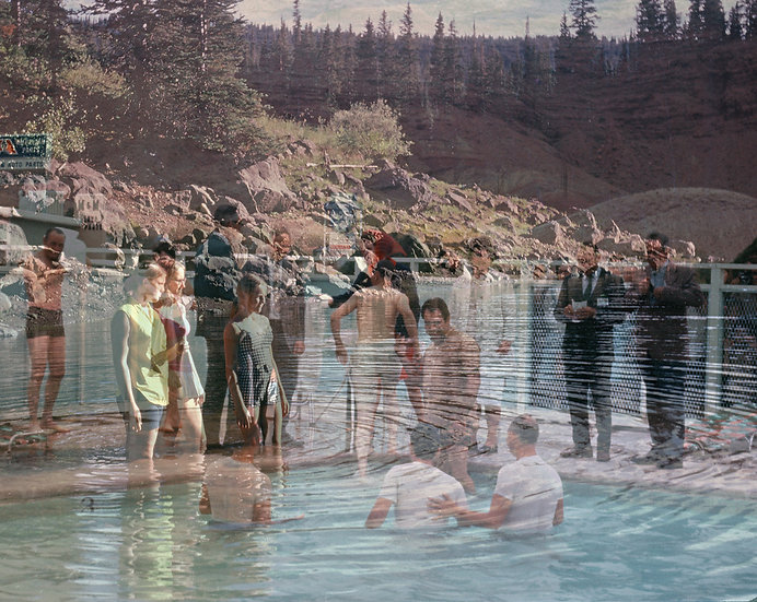 """First Women Baptisers at Grand Mesa National Forest"""